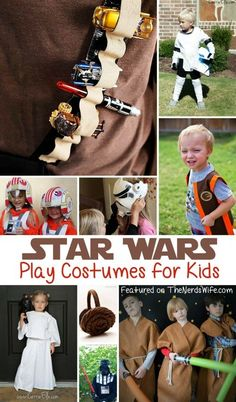 Star Wars Play Costumes for Kids