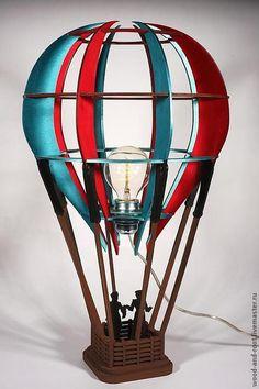 Светильник Воздушный шар Balloon Lamp - WOODANDROOT - Ярмарка Мастеров http://www.livemaster.ru/item/5576675-dlya-doma-interera-svetilnik-vozdushnyj-shar