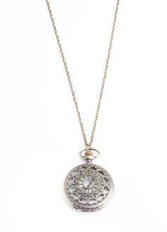 Miss Christie Timepiece Necklace