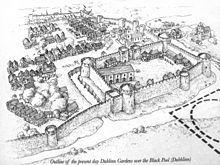 Image result for medieval dublin castle