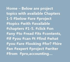 Home – Below are project topics with available Chapters 1-5 #below #are #project #topics #with #available #chapters #1-5. #click #on #any #to #read #its #contents, #if #you #can #t #find #what #you #are #looking #for? #hire #an #expert #project #writer #from #pro,accounting #project #topics #and #materials, #political #science #project #topics, #political, #science, #project, #topics, #project #topics #for #student, #project, #topics, #for, #student, #undergraduate #project #topics…