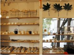 Farmer's Table is a cafe with an upstairs shop specializing in everyday objects for the home.