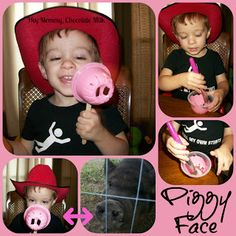 Hey Mommy, Chocolate Milk: That Pig is Not Pink!