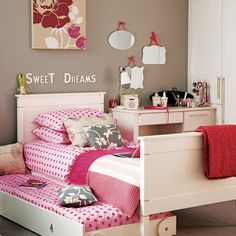 Girls neutral bedroom