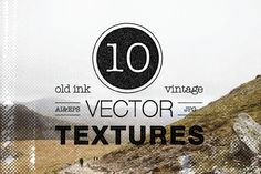 Check out 10 Vintage Vector Textures by Desigggner on Creative Market
