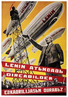 A Fleet of Airships for Lenin | OldBrochures.com