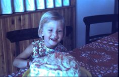 I found this photo of my third birthday! My grandmother always made heart shaped cakes with untidy thick passion fruit icing and too many sprinkles. All Kinds Of Everything, Heart Shaped Cakes, Pure Joy, Third Birthday, Heart Shapes, Sprinkles, Icing, Passion, Pure Products