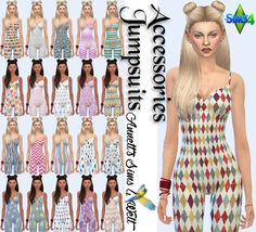 Sims 4 CC's - The Best: Accessories Jumpsuits