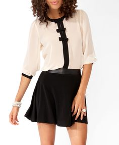 Sheer Bow Trio Top | FOREVER21 - 2020059641
