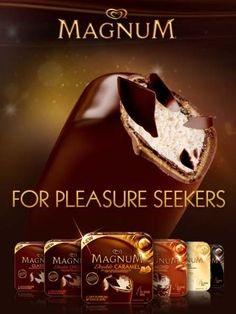 Sold at your nearest grocer! The best ice cream bars ever! Magnum Ice Cream. Absolutely to die for!!! I love the double caramel ice cream bars.