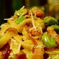 six out of ten magazine: Recipe: BackDoor Kitchen's Carbonara di Fave