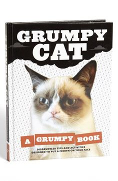 'Grumpy Cat' Book. <3 I have not read this yet but want to really bad! I NEED to own it. <3