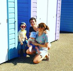 It's the end of yet another month so it's time to share our family portrait for the month for #MeandMineProject over on my blog. I'll pop the link in my profile if you fancy a look. This month we took them at the beautiful pastel coloured beach huts in Weston Super Mare where we visited earlier in the month  @meandmineproject