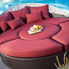 50% OFF Sunbrella-Belham-Living-Rendezvous-Wicker-Sectional-Daybed