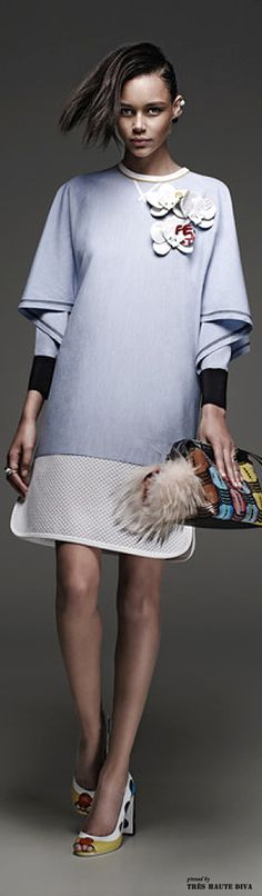 Fendi Resort 2015 ♔