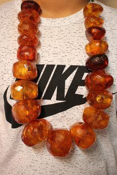 Echte Bernsteine XXXL Bernstein Kette 1388 Gram Natural Amber Necklace RAR | eBay