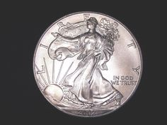 2002 Walking Liberty 1oz. Silver Coin for Sale or Scrap, Brillant Uncirculated