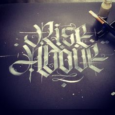 Typeverything.com Rise Above by Patrick Cabral....
