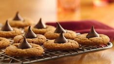 A holiday classic, these cookies are quick and simple, thanks to Pillsbury® refrigerated peanut butter cookies.