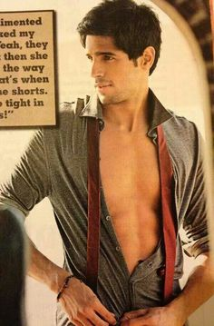 Siddharth malhotra hoooootttttest guy ever he is mine so back off sissters I called dibs when he started as a model