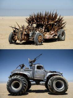Mad Max Vehicles ☠☠✯✯666✯✯☠☠