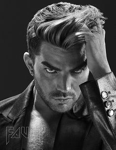 Stunning!!!! Adam Lambert in Fault Magazine | Source: Fault Magazine (photo credit: Giuliano Bekor)