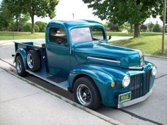 Find used 1946 ford hot rod pickup truck in Green Bay ...