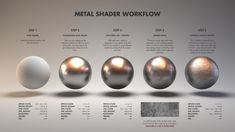 [image] Title: Material Studies: Metals Name: Jarrod Hasenjager Country: South Africa Software: Houdini Arnold Submitted: April 2016 Hello all, this is my first entry into what will be a series of studies on di… Blender 3d, Image Blender, Beauty Blender, Vray Tutorials, 3ds Max Tutorials, Drawing Tutorials, Zbrush, 3d Texture, Metal Texture