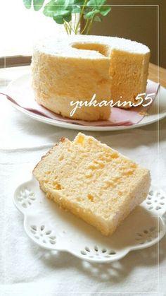 ◆お豆腐のシフォンケーキ◆