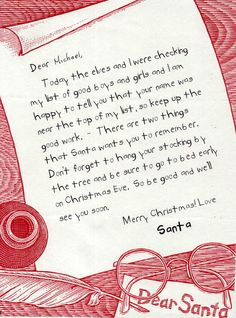 santa letter 1 santa and lanterns santa letters pinterest