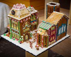 Chef Victoria's Gingerbread village