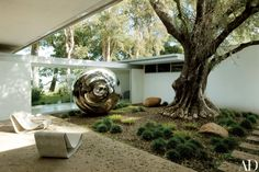 Vidal Sassoon's Renovated Modernist Retreat in Bel Air Photos   Architectural Digest