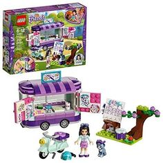 LEGO Friends Emma's Art Stand 41332 Building Set 210 Piece for sale online Legos, Toys For Girls, Kids Toys, Lego Girls, Backyard Playset, Lego Friends Sets, Art Stand, Lego Construction, All Lego