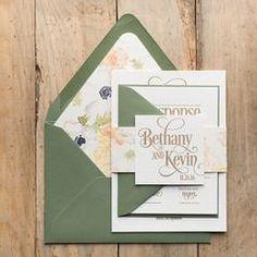 BETHANY Suite Fancy Glitter Package. Glitter Wedding InvitationsLetterpress  ... 31d625982bb8