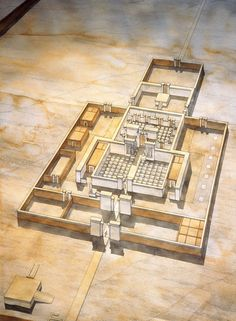 Egypt - Great Temple of the sanctuary of Akhetaton (Tell el-Amarna)   jeanclaudegolvin.com
