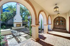 1254 Fanning - mediterranean - patio - dallas - Heritage Design Studio
