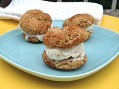 Snickerdoodles: made with spelt & oat flour, raw turbinado & date sugar. :)
