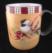 59 best birds lenox winter greetings everyday holiday stoneware by lenox winter greetings everyday stoneware by catherine mcclung chickdee mug m4hsunfo