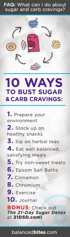 Monday Motivation | What can I do about sugar & carb cravings?  #21dsd #sugarcravings #sugardetox