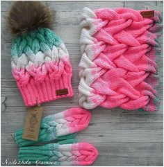 Loom Knit Hat, Crochet Baby Beanie, Knit Beanie Hat, Loom Knitting, Hand Knitting, Knitted Hats, Knitting Patterns, Crochet Patterns, Beanies