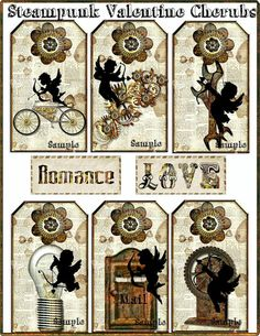 Label ~ steampunk valentines