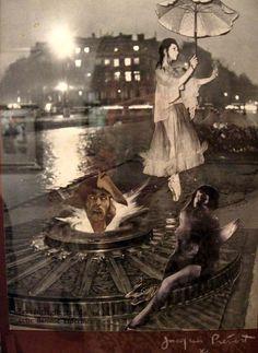 Jacques Prévert. Collage. Via rivesveronique on tumblr