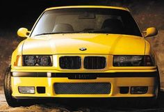BMW E36 YELLOW <3
