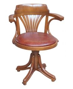 Drehstuhl ohne rollen holz  Drehstuhl mit Leder, Drehstuhl ohne Rollen sehr elegant Taormina ...