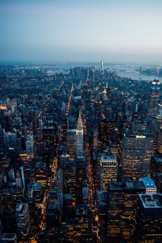 Despite the chaos NYC is known for...from up above, the city's magic can really be felt.