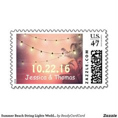 Colored Ocean Jewel Wedding Postage Gd by Deprise Wedding Postage Stamps, Long Haired Dachshund, Self Inking Stamps, Monogram Wedding, Christmas Morning, Love And Light, Vintage Christmas, Christmas Cards, Long Hair Styles