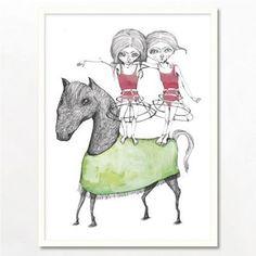 Bob Noon Hest Illustration