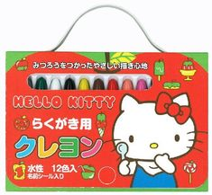 7468657e8d Toyo Sanrio Hello Kitty-Chan graffiti crayons 12 color 314701     You can  find out more details at the link of the image.(It is Amazon affiliate  link)   ...