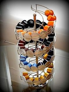 1000 images about nespresso on pinterest coffee flatware storage and wall racks. Black Bedroom Furniture Sets. Home Design Ideas