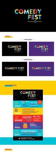Comedy Fest on Behance